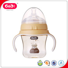 Latest Design Plus Wide-neck PPSU Baby Feeding Bottle