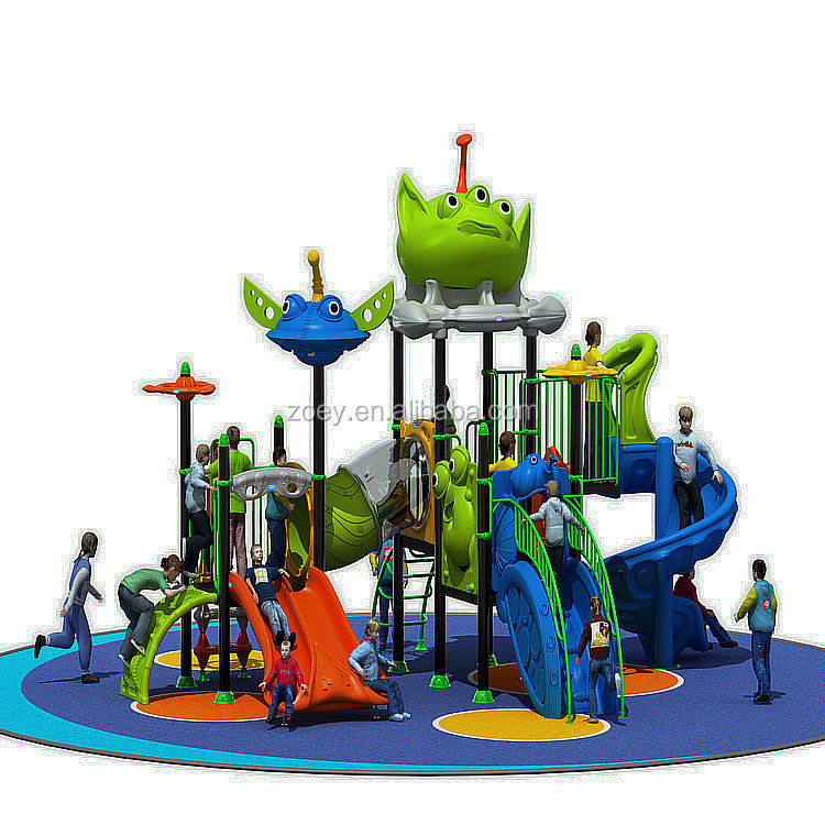 Children outdoor playground tunnel slides playground outdoor obstacle course foam playground equipment