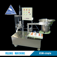 Factory Direct 300ml Tube Filling Sealing Machine For Silicone Sealant
