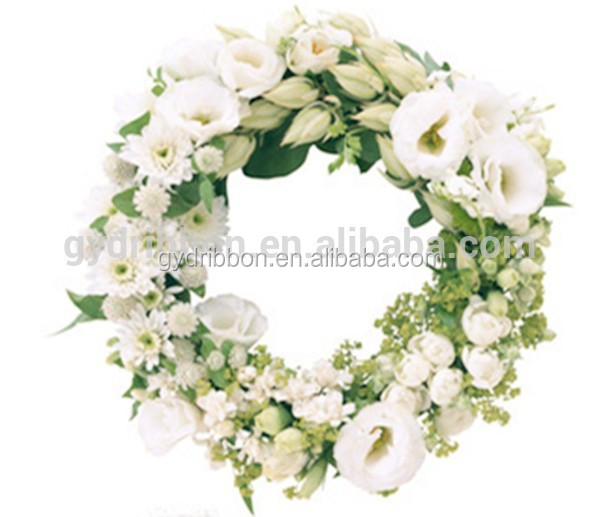 artificial pvc wreath with flowers as christmas tree decoration glitter floral picks buy artificial christmas berry picks