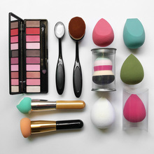 Professional private label makeup beauty sponge brush /Custom personalized makeup brushes