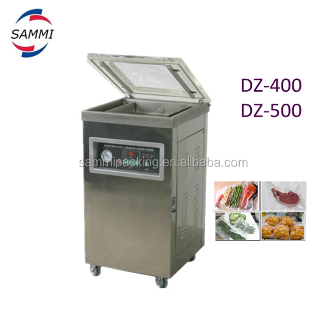 semi-automatic top quality single chamber dz-500 vacuum packing machine