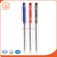Lantu 2016 Plastic Body Ballpoint Pens Printed Custom Logo Ball Pens For Promotion