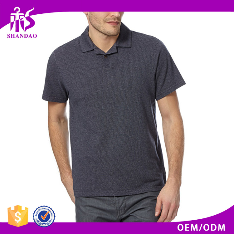2016 Guangzhou Shandao Manufacturer Quick Dry Casual 210g 100% Cotton Short Sleeve Custom Made Man Easy Clothing