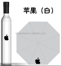 Promotional Advertising Printing Wine Bottle Umbrella with Logo
