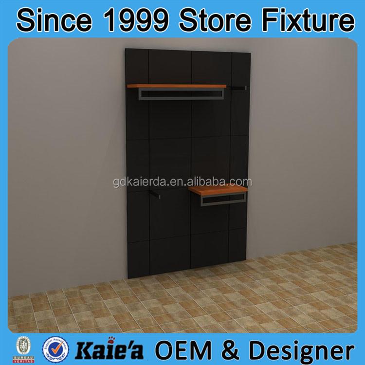 kleidung aus holz anzeige regal anzeige modehaus holzregal. Black Bedroom Furniture Sets. Home Design Ideas