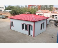 Green Environmental Friendly easy assembly light steel frame prefab house
