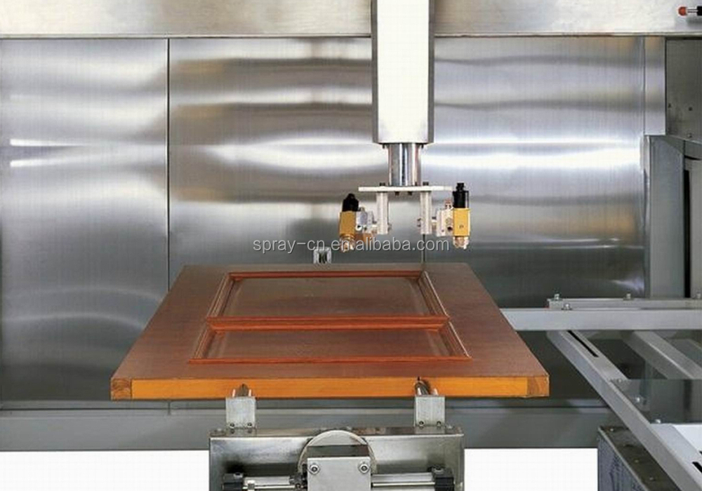 Automatic Spraying Wood Door Painting Machine