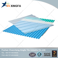 Translucent pvc roof shingles non combustible building materials