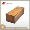 Luxury genuine wood wine packaging box custom wooden wine box