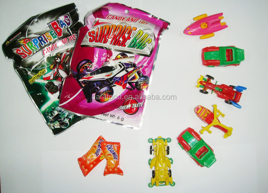 surprise bag toy and candy sweets confectionary for boy