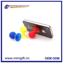 newest Suction Ball silicone Mobile Phone Stand for iphone 4s Octopus silicone Phone Stand for Mobile Phone