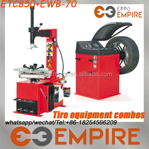 high quality tire equipment combo/auto workshop equipment/tyre repair machine