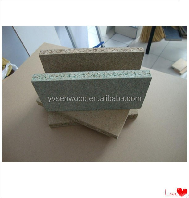different thickness standard szie moistureproof green core particle board for furniture