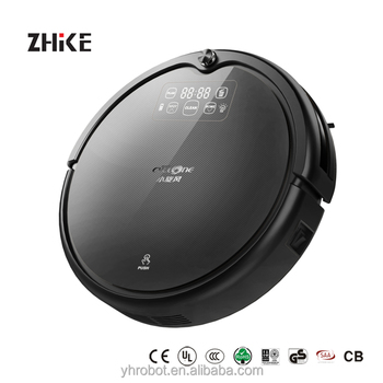 2018 Newest Colorful Wifi Controlled Robot Vacuum Cleaner,Wifi Smart Robot Vacuum