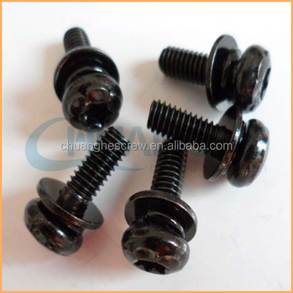 China Fastener Supplier sales high quality socket nylock combination screw