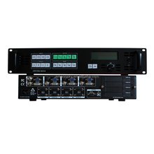 Outdoor hd led curtain video switcher AMS-SC368BS video wall controller support preset save and call