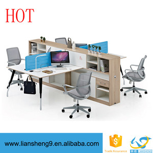 High quality latest Modern Simple American Style workstation partitions workstation computer modern office workstations