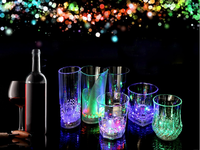 Supply many kinds of colorful induction flash cup, holiday gifts of the necessities of the party
