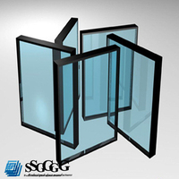 High Quality double glazing glass thickness