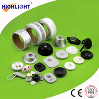 Highlight H010 2015 new products eas plastic hard tag for clothing shops