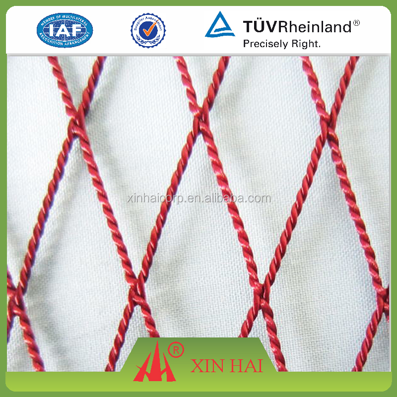 PE twist knotless nets from China biggest net factory