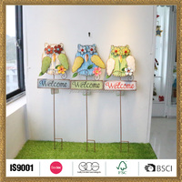 owl bird price ornaments spring stick decoration custom made toy