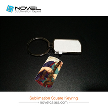 Wholesale Sublimation Keyring, Fashion Customized Shape keyring