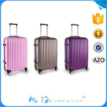 ABS+PC film luggage bag Suitcase with cartoon pattern
