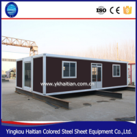 Sea containerized houses shipping container shipping prefab homes cheap low cost prefabricated house manufactures in china