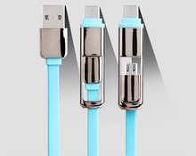 High Quality Usb To Type-C With Android 2 in 1 Micro Usb Cable For iaomi Letv Samsung Galay S6 And Type C Android Universal