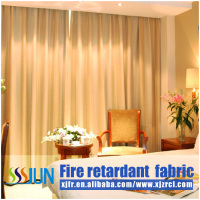 Unique free sample flame retardant blackout luxury hotel curtains