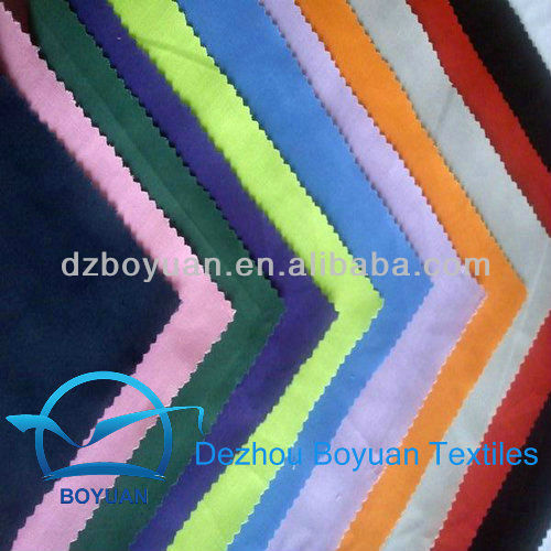 65 Polyester 35 Cotton TC Plain Dyed Pocketing Fabric