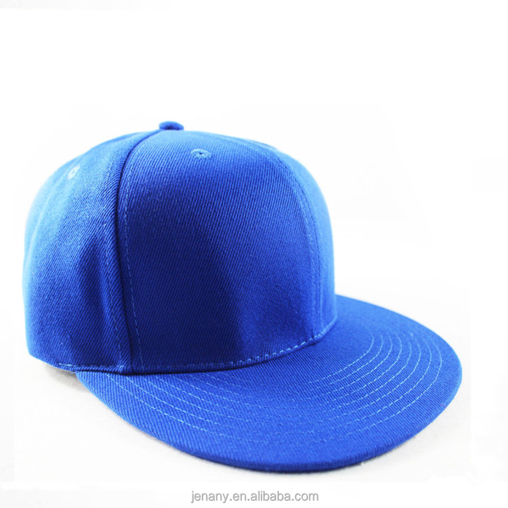 China Headwear OEM 100% Cotton Material Blank Snap back Hat With Your Own Logo