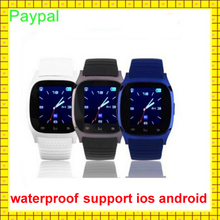 popular Step motion meter waterproof unlocked smart watch mobile phone
