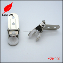 Metal mini suspender clip
