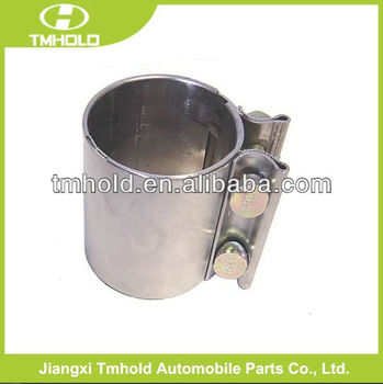Stainless steel Torca crimp type pipe clamp with Coupler exhaust Components