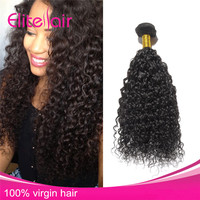 100% Unprocessed Brazilian Hair Kinky Curly Virgin Hair Bundles High Quality Wholesale Natural Colour