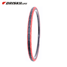 Taiwan Factory Provide Bike Parts Red Airless Excel Bicycle Tires