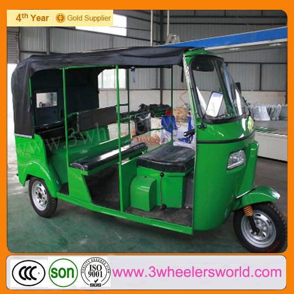Chongqing Petrol Backward Bajaj Three Wheeler Passenger Auto Rickshaw Price