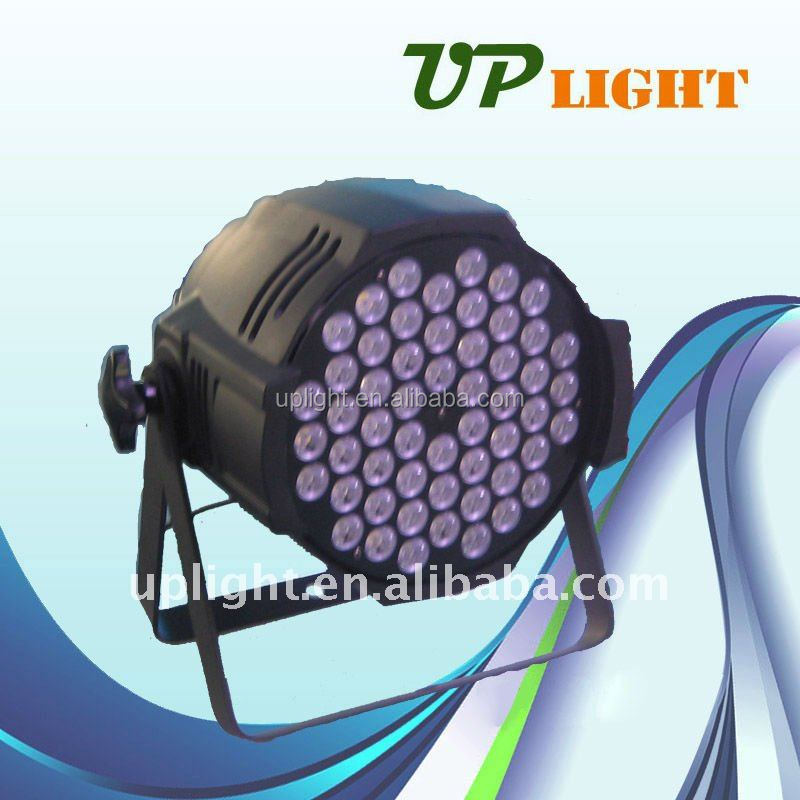 2014 hot sale Brightness 54pcs *3W Edison stage dmx512 led disco dj stage lighting digital RGBW