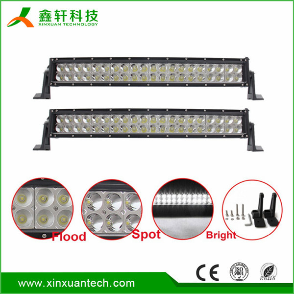 Offroad 4x4 LED work light 120w 20 inch led light bar for offroad truck boat
