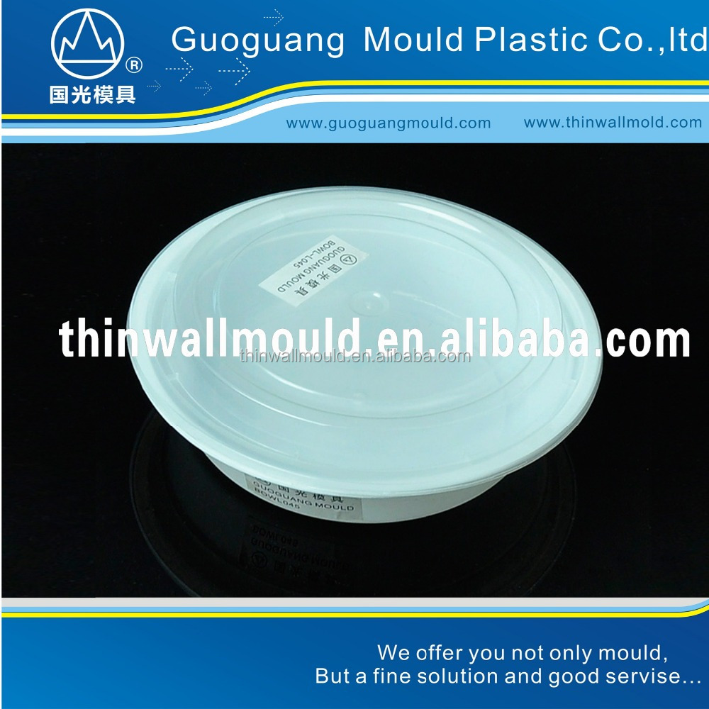 GR726 disposable container for food packing,thin wall mould maker