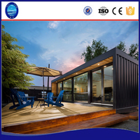 2018 prefab modular luxury homes solar shipping container house expandable modern prefab villas prefabricated house prices