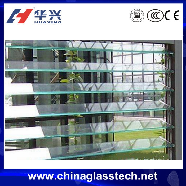 China manufacturer new style exterior glass louver door