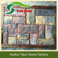 High Quality Interior Decorative Rough Face Artificial Brick Paneling