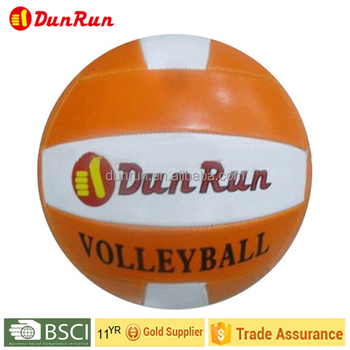 Machine Stitched PVC leather volleyball, Training Volleyball,