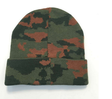 Men Knit Skull Hunting Camo Camouflage Ski Winter Beanie Hat Cap