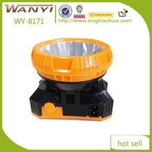 Plastic cheap wholesale portable waterproof powerful LED headlamp for miner