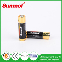 low price Zinc carbon AAA/AA R6/R03 size battery top10 china supplier